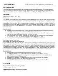 Web Administration Resume Examples System Administrator Objective