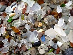 find sea glass at glass beach