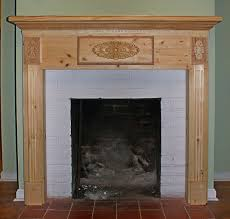 diy fireplace mantels surround plans stacked stone