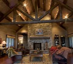Rustic Home Lighting Log Living Room With Black Rustic Track Lighting Fixtures Home S