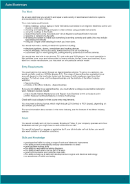 Electrician Resume Template Free Elegant Job Resume Free Electrician Cv Template Electrician Cv 24