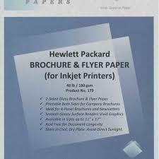paper flyer hp gloss brochure flyer paper inkjet photo paper for sale