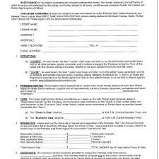 Free Business Lease Agreement Template Fresh Free Lease Agreement ...