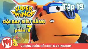ĐỘI BAY SIÊU ĐẲNG - Phần 7 | Tập 19: Giải Cứu Tàu Bay Thế Giới (P1) - Phim  hoạt hình SuperWings - Phương