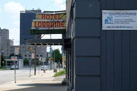 the lorraine motor hotel on jefferson avenue