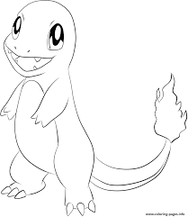 Coloring Books Smiling Pokemon Coloring Pages For Kids Printable