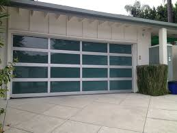 aluminum glass doors clear anodized rails white laminate glass 4 4 layout garage door