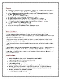Petroleum Engineer Resume Domestic Engineer Resume Petroleum ...