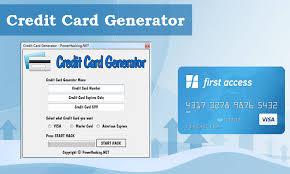 Credit Card Generator Credit Generator Card Banking24seven Banking24seven