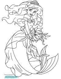 Small Picture The Little Mermaid Coloring Pages 3 Disney Coloring Book