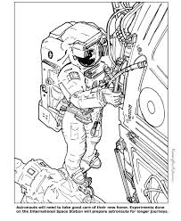 Small Picture Astronaut coloring pages to print 006