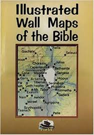 Illustrated Wall Maps Of The Bible Carta 9780825423758