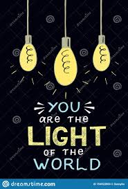 Sermon Illustrations Light Of The World Hand Lettering And Bible Verse You Are The Light Of The