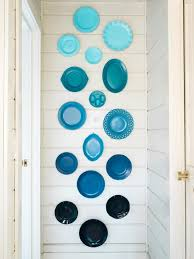 decorate with grant colored plates