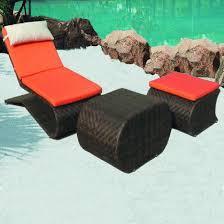 rotin salon sun de pliage des chaises