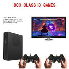 Máy chơi game điện tử tay cầm gamer kết nối tivi đa cổng HDMI và AV 800 game  Hỗ trợ thẻ nhớ, lưu game - Tay bấm game - Thiết bị điều