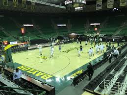 Baylor Basketball Arena Seating Chart Ferrell Center Section 105 Rateyourseats Com