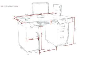 typical desk height office desk dimensions standard