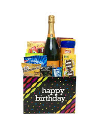 veuve clic birthday basket