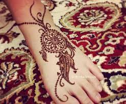 Dream Catcher Foot Tattoo feet henna designs Google Search mehandi Pinterest Foot 67