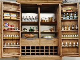 design of install freestanding pantry cabinet