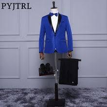 Best value <b>Wedding</b> Men Slim <b>Suits Red Tuxedo</b> – Great deals on ...