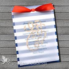 blue and white nautical ribbon layered wedding invites iwfc036 Ribbon On Wedding Invitation blue and white nautical ribbon layered wedding invites iwfc036 tying a ribbon on a wedding invitation