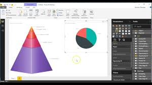 3d Pie Chart Power Bi Power Bi Custom Visual Pyramid 3d Chart By Collabion