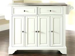 white kitchen island with stainless steel top on ceramic rolling white kitchen island with stainless steel top on ceramic rolling
