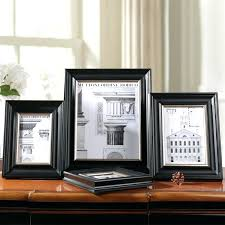family collage frames black wooden frame for photos wood modern wall photo wedding para family collage frames