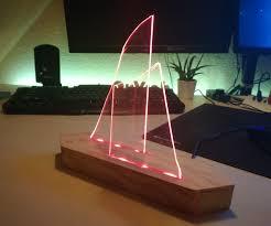 Plexiglass Light Led Plexiglass Light 6 Steps