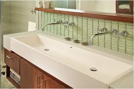 undermount trough bathroom sink with two faucets inspirational sinks awesome undermount trough sink undermount trough