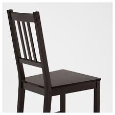 black furniture ikea. IKEA STEFAN Chair Solid Wood Is A Hardwearing Natural Material. Black Furniture Ikea