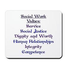 Social Work Values Social Work Values Mousepad By Keepwalking
