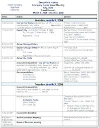 Example Travel Itinerary Template Viralpole Info