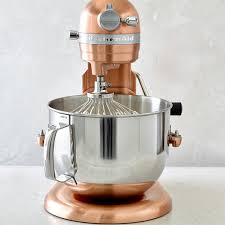 kitchenaid pro line copper stand mixer 7 qt williams sonoma