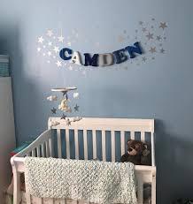 kids name banner baby nursery decor