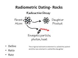 radiometric dating definition
