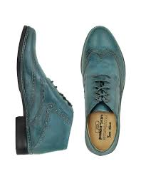 pakerson petrol blue handmade italian leather wingtip ankle boots men pakerson