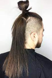 24 new masculine takes on samurai hair