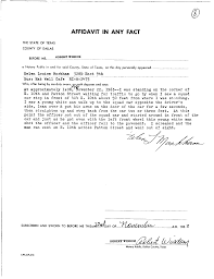 Affidavit Of Knowing A Person Sample Letter Cool Green Jobs