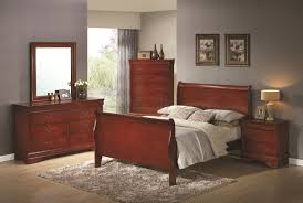 Sleigh Bed Bedroom Sets Coaster Louis Philippe Full Sleigh Panel Bed Coaster Fine Furniture