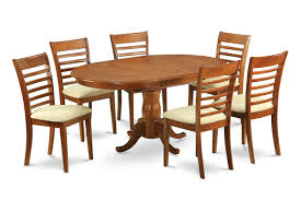 Oval Kitchen Table And Chairs 5 Pc Dining Table Set For 4 Oval Dining Leaf With 4 Dining Chairs