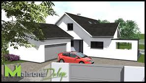 Plan Maison 4 Pans Gallery Of Maison Habitat Concept With Plan Construire Topic