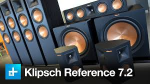 klipsch home theater. klipsch reference premiere 7.2 surround sound system - review youtube home theater