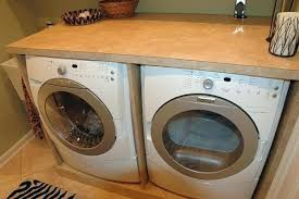 laundry room countertop over washer dryer washer dryer over front load washer and dryer 6 ilration