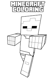 More alphabet coloring pages (what begins with. Free Minecraft Coloring Pages Coloring Pages For Kids