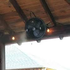 outdoor wall mount fans. Outdoor Wall Mount Fans Mounted Misting Awesome Cooling Fan