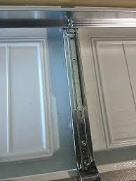 9 of 10 2 horizontal garage door opener reinforcement u bar strut brace for 8 wide door