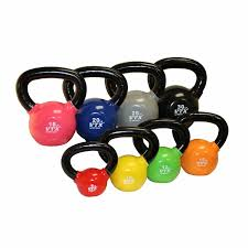 york kettlebells. vtx 5-30lb kettlebell set with rack york kettlebells